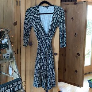 Anne Klein wrap dress
